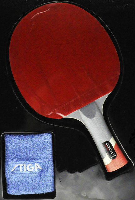59ae12c4f56f Genuine Stiga PRO CRYSTAL Quality 4 stars Table Tennis Racket Ping Pong  Paddle Best quality carbon blade Raquete De Ping Pong
