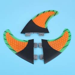 3 шт Размеры M/G5 стекловолокна и Мёд гребень доски для серфинга Набор для FCS-G5 Box Surf Плавники хвост двигателей штурвала принадлежности для