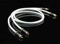 MPS M 4 High End 6N OFC Hi Fi 99 99997 5U Gold Plated 2 RCA