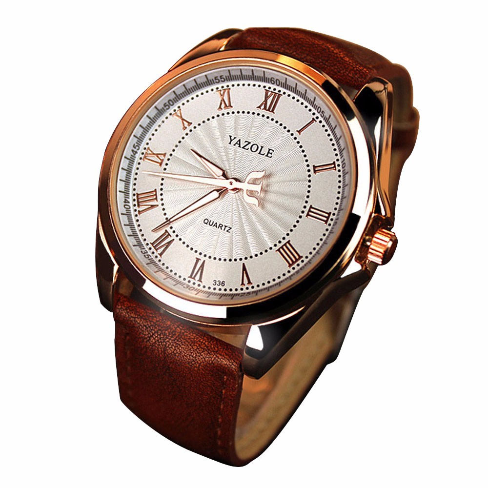 whatch men brand luxury Fashion Men's Date Leather Stainless Steel Military Sport Quartz Wrist Watch 2016 Hot Sale Rosonse rosonse business about men stainless steel band machinery sport quartz watch