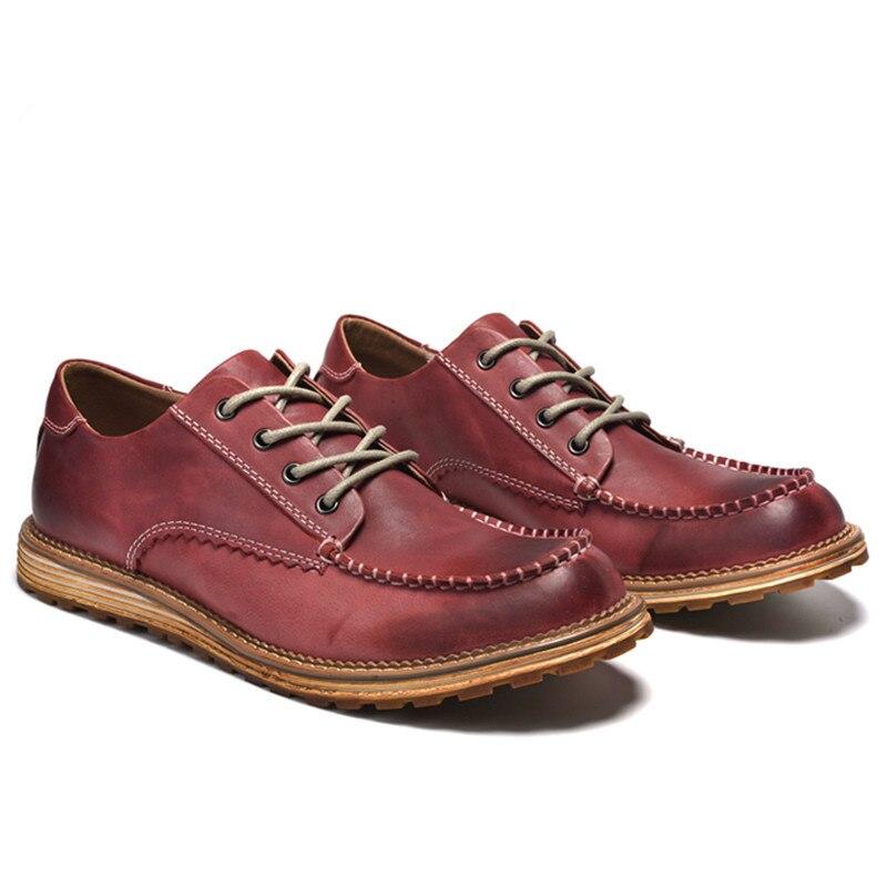 Genuíno Superior coffee Preto up Sneaker Qualidade Sapatos Marca Luxo Alta Artesanais Lace Flats De Da Mens Couro amarelo Moda vermelho Homens wxOUTqOX8