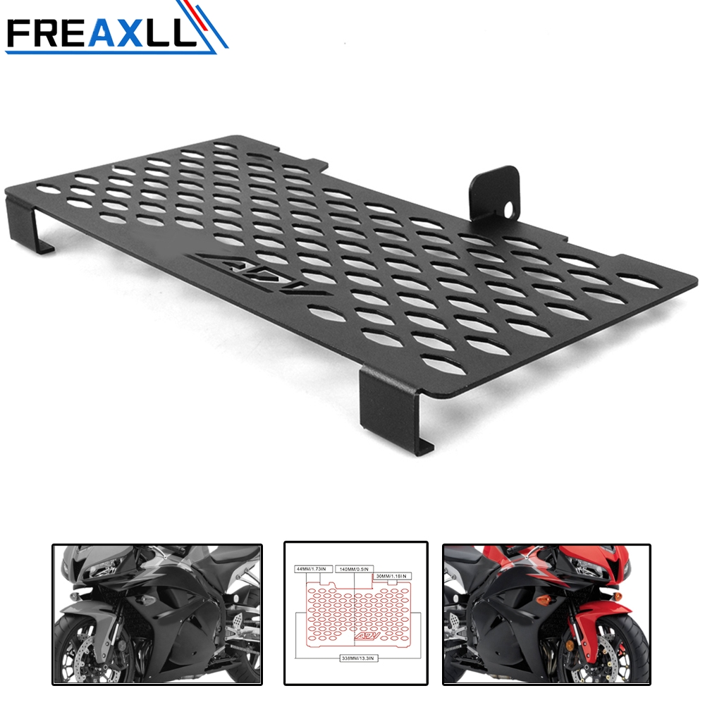 Motorcycle Radiator Guard Grille Cover Stainless Steel Cooler Protector For Honda ADV 750 2017 2018 ADV Motocycle Accessories