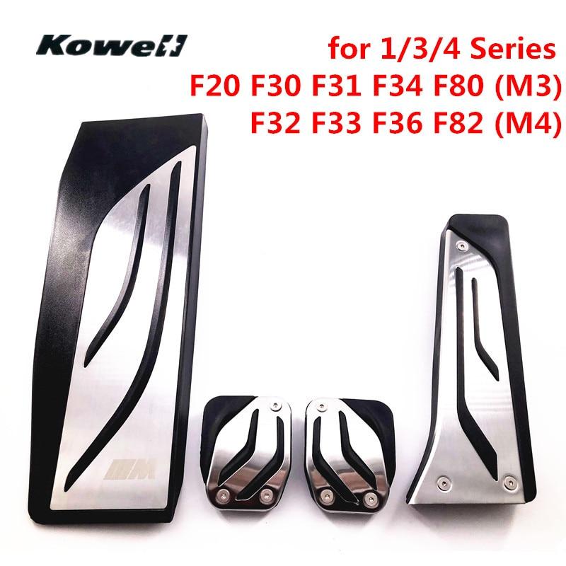 Brake Fuel Clutch Foot Rest MT Pedals for BMW 1 3 4 Series 3Series F30 F31 F34 M3 F80 4Series F32 F33 F36 M4 F82 1Series F20 F21 huppa huppa шапка шлем coco 1 белая