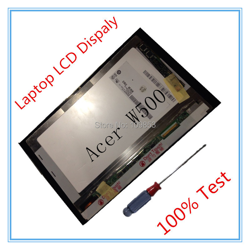 10.1 B101EW05 V.3 100% Original For Acer Iconia Tab W500 Full LCD Display + Touch screen Digitizer Assembly free tool
