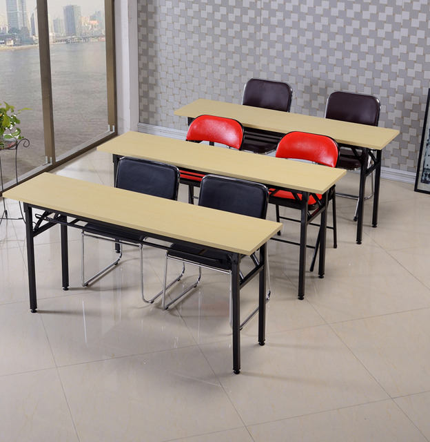 Simple Training Tables Folding Table Long And Negotiate Office Computer Desk  Conference Specials