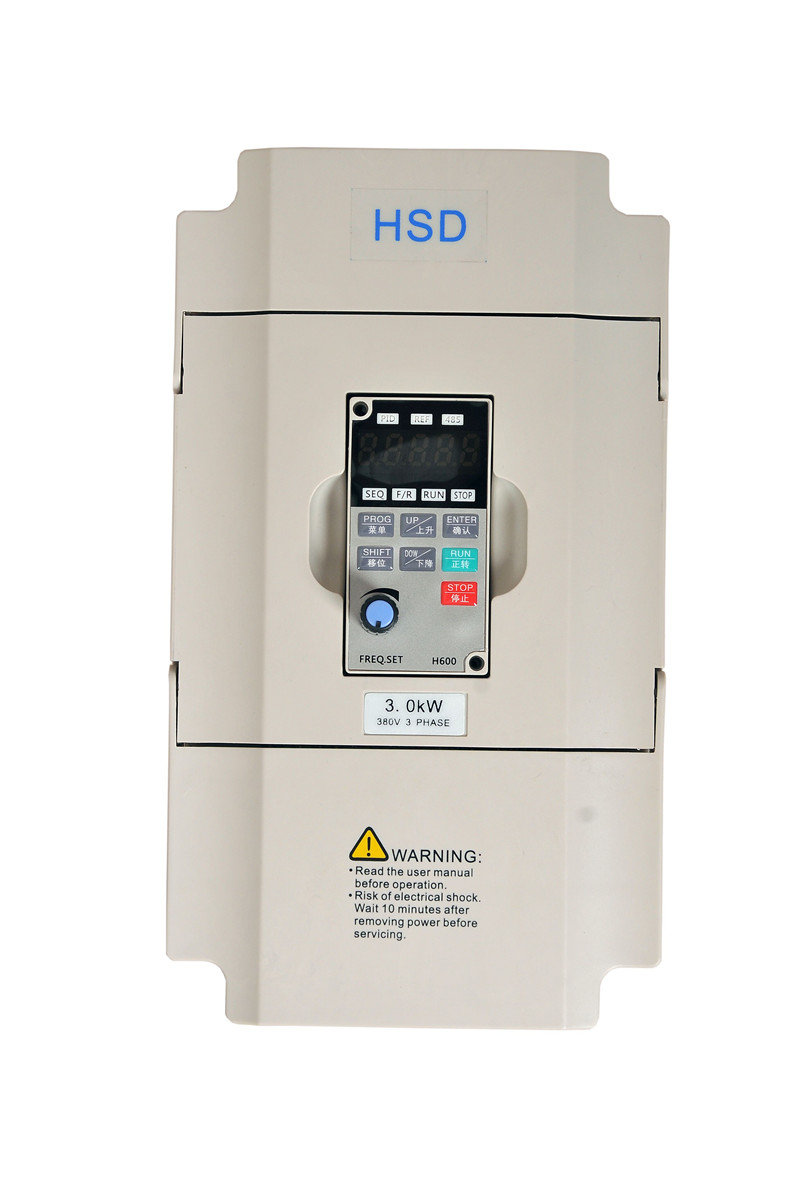 3KW 4HP 400HZ VFD Inverter Frequency converter single phase 220v input 3phase 380v output 7A for 3HP motor