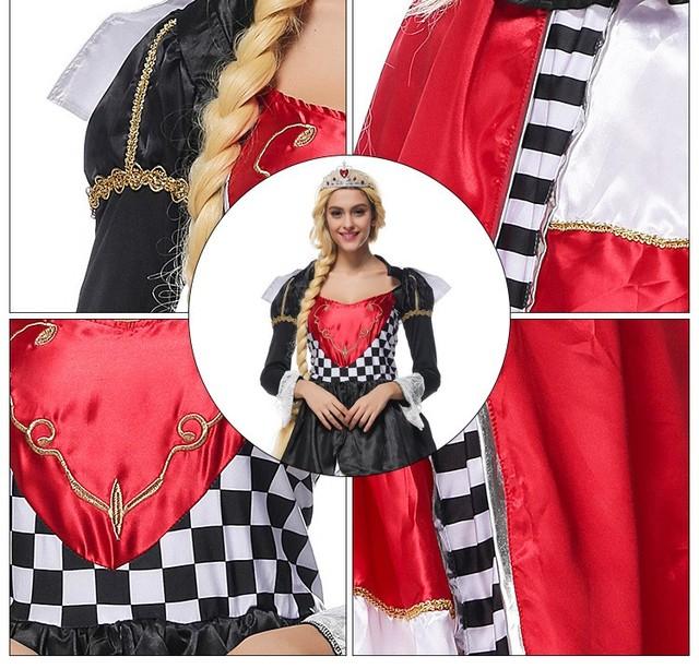 Alice in Wonderland Queen Dress
