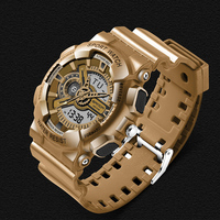 2019 NEW Shock watch Men G style Fashion Business Sport wrist watches Outdoor Digital Analog Alarm 30 Waterproof Military Hombre
