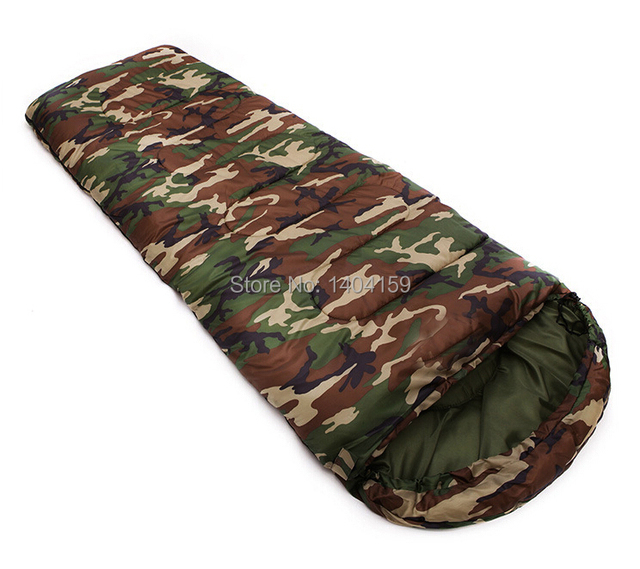 Hot Ing Cotton Camping Sleeping Bag 10 0 Degree Envelope Style Army Or Military