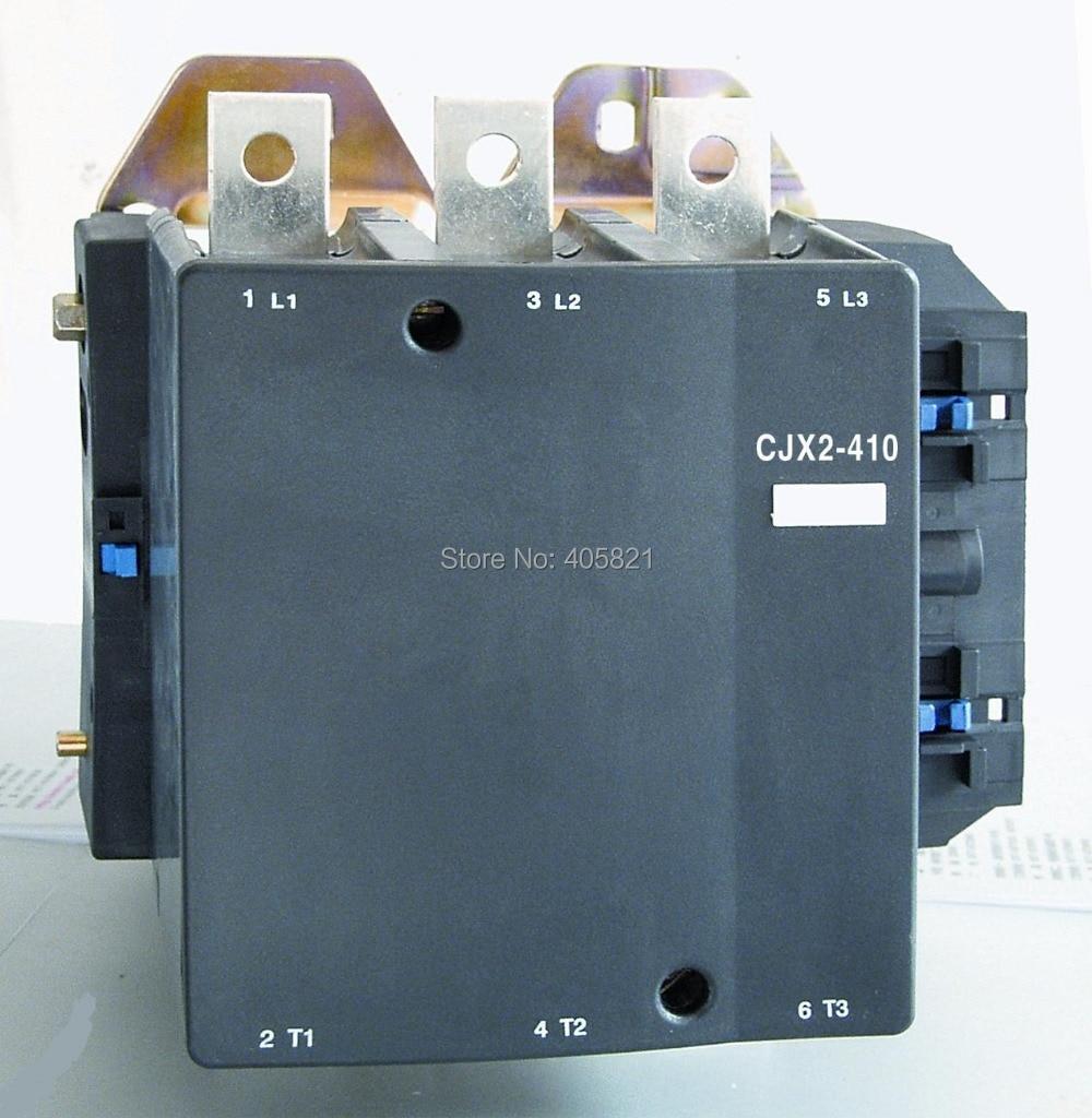 Meilleure qualité 410A AC contacteur CJX2-410 3 P utilisé pour moteur à courant alternatif
