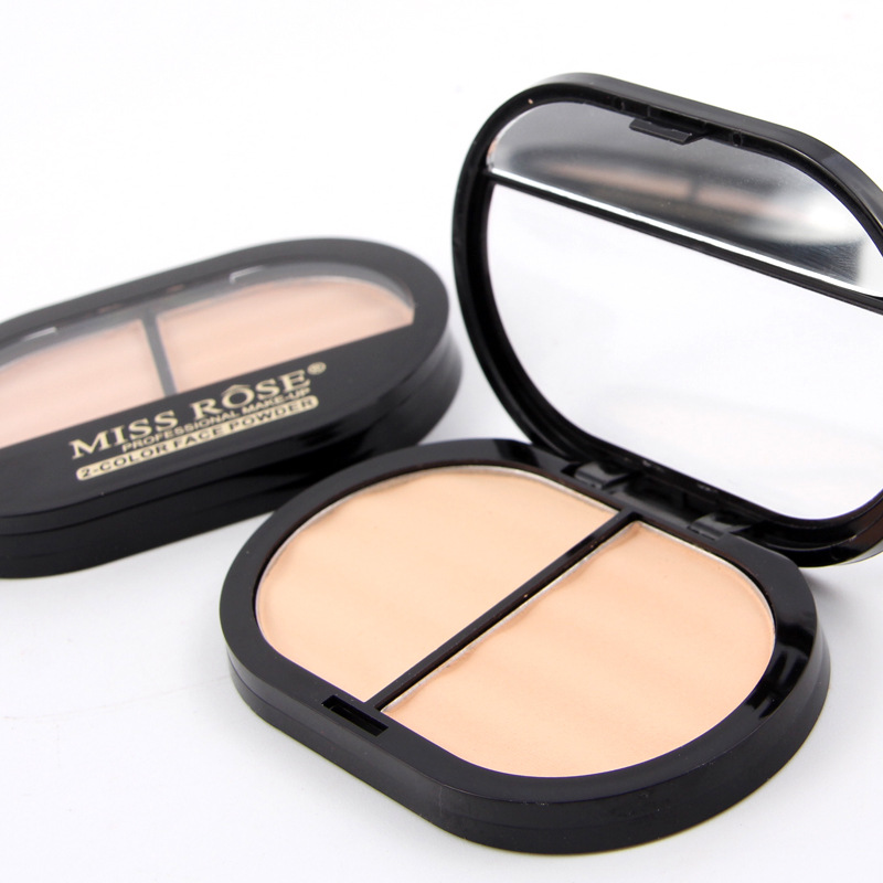 MISS ROSE Brand Makeup 3 Colors Face Pressed Powder Long-lasting Whitening Brigh