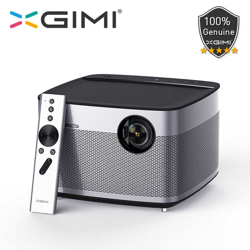 "Xgimi H1 DLP Projector Full HD 1080P 900 ANSI 3GB 16GB 300 ""Android WIFI Bluetooth Screenless TV Home Theater 4K Proyektor HDMI USB"