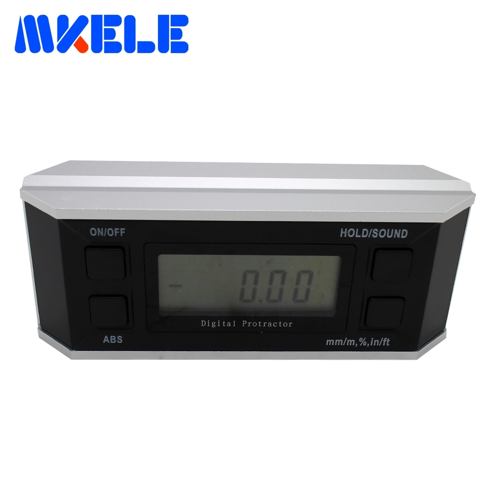 купить Digital Bevel Box With Magnetic Base Bevel Box Inclinometer Angle Finder Cube Gauge Protractor High Accuracy по цене 3671.87 рублей