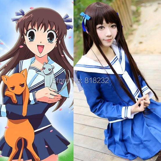 Fruits Basket Honda Toooru School Uniform Dress Sailor