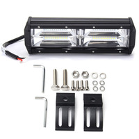 New 7 inch 216W 21600LM 8D Optic Lens LED Work Light Bar Spotlight Driving Lamp For All Terrain Vehicle Offroad 4 Wheel Drive