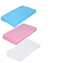 10PCs Disposable Beauty Sheet Cover Pad Massage Table 175x75cm Waterproof Beauty Spa Bedsheet Salon Body Scrub Massager Bedsheet(China)
