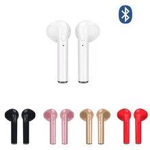Wireless Earpiece Bluetooth Earphones i7s Single TWS Earbuds Headset With Mic For Phone iPhone Xiaomi Samsung Huawei LG