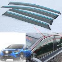 Yağmur Pencere Güneşlik Güneşlik Trim Için Mazda CX-CX5 Set başına 2012-2013 4 Adet