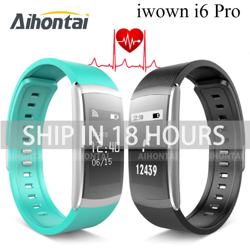 Aihontai I6 PRO Smart Wristband Heart Rate Monitor IP67 Waterproof Smart Bracelet Fitness Tracker support Andriod