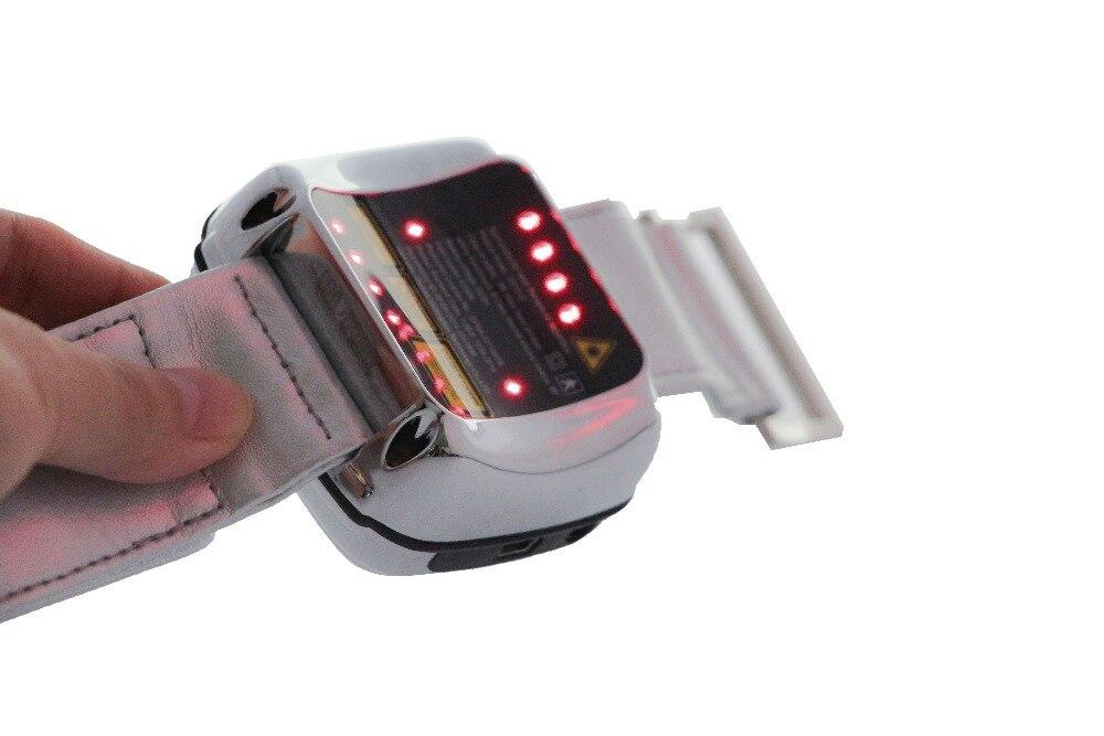 Lastek offre d'usine Le Diabète matériel médical 650nm laser doux laser thérapie montre
