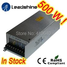 Бесплатная доставка Leadshine RPS608-L 60 В ПОСТОЯННОГО ТОКА/8.5A Стабилизированный Импульсный Источник Питания с 85-132 В ПЕРЕМЕННОГО ТОКА