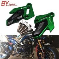Motorcycle Accessories CNC Front Brake Disc Caliper Protector Cover Brake caliper Guard For Kawasaki Z900 Z 900 z900 2017