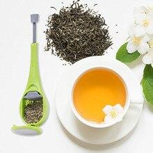 Встроенный Плунжер для заварки чая, здоровый интенсивный вкус, многоразовый пакетик для чая, пластиковый ситечко для чая и кофе, измерительный вихревой крутой перемешивание и пресс