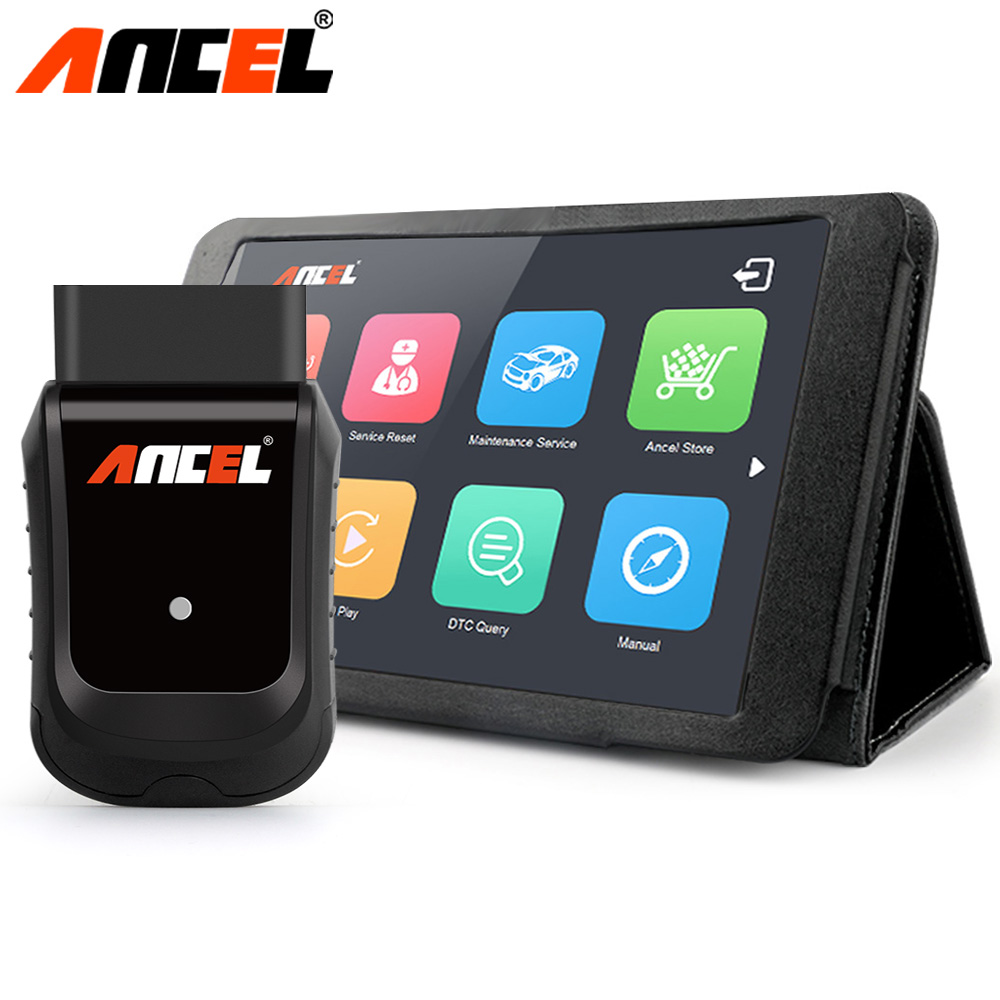 Ancel X5 / Plus OBD2 WIFI Car Diagnostic Tool Multi language OBD Airbag DPF Oil Reset Tester Coding Programming Automotive Tool vdm ucandas wifi full system automotive diagnostic tool multi language newest version v3 73 include for h onda adapter