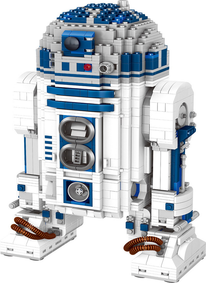 05043 Genuine Star Series The R2 Robot Set D2 Out of print Building Blocks Bricks Toys 10225 wars birthday christmas gifts