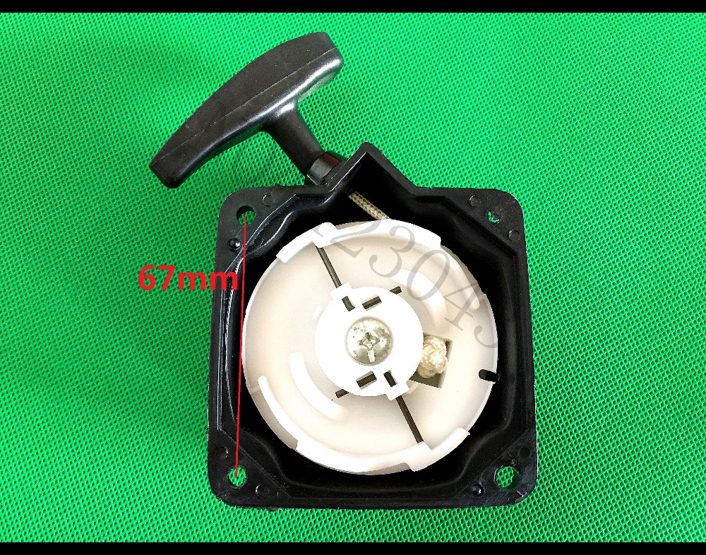 Grass Trimmer Start Steel Recoil Pull Starter Assy Fits for 430 520 43CC 52CC bc430 bc520 Brush CutterGrass Trimmer Start Steel Recoil Pull Starter Assy Fits for 430 520 43CC 52CC bc430 bc520 Brush Cutter