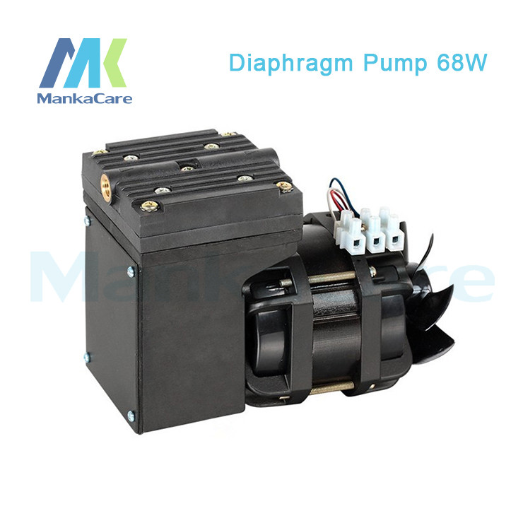 Manka Care - 110V (AC) 25L/MIN 68W Oilless Air Vacuum Pump/Silent Pumps/Oil Less/Oil Free/Compressing Pump 220v ac 50l min 165w oil free piston vacuum pump hzw 165