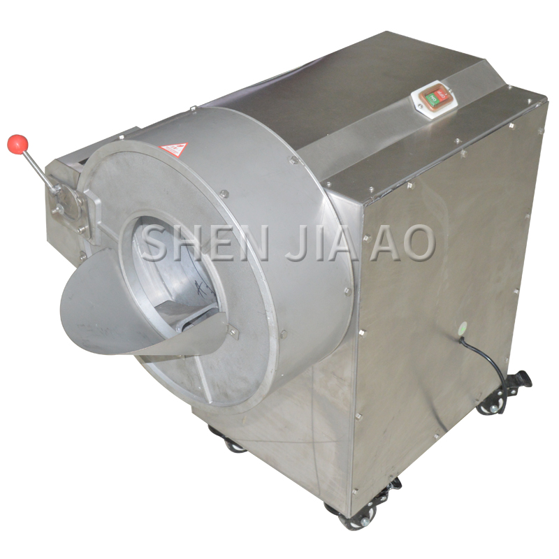 Commercial electric cutting machine restaurant vegetable cutter dicer machines potato slicer Multi function Shred machine 220v