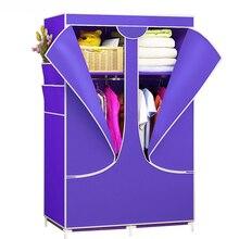 Тканевый шкаф складной Тканевый шкаф большой шкаф для хранения Тканевый шкаф для хранения русский склад мебель для спальни нетканый шкаф