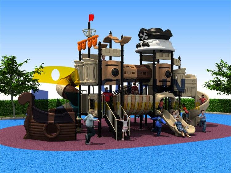 certificado ce piratas buque juegos infantiles ext