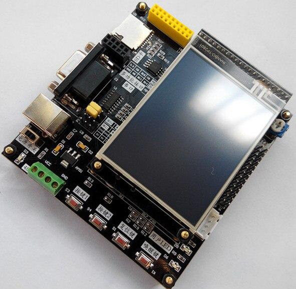 Livraison gratuite sans la carte de développement LCD stm32f051 dépasser 51 carte de développement stm32f0 carte de développement panneau de démonstration