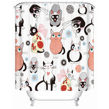 Cats Who Are Lovelycoolfatsmartclumsy Or Beautiful Celebrating A Party Bathroom Shower Curtain For Home Bath Accessory