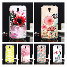 Flower & Tree & Fruits Painted Case back cover For Lenovo A859 A 859 Mobile Phone Case Cover Hard PC Case For Lenovo a859 Bags