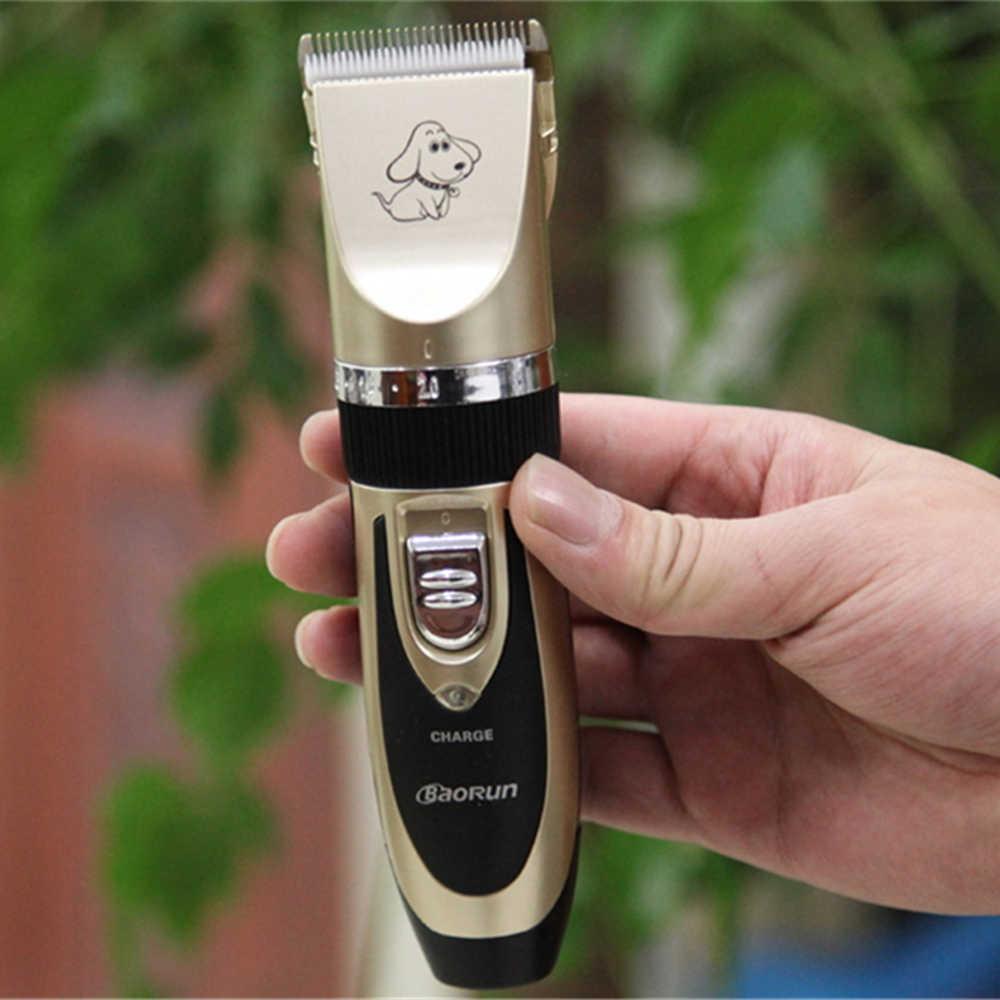 Профессиональный триммер для кошек и собак, перезаряжаемые машинки для стрижки волос, бритва, электрические ножницы, собачья шерсть, машинка для резки