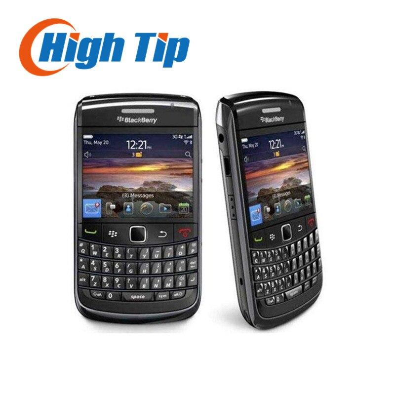 Восстановленное 9780 Оригинал BlackBerry Bold 9780 сотовый телефон 3G GPS Бесплатная доставка