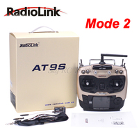 Radiolink AT9S R9DS Radio Remote Control System DSSS & FHSS 2.4G 9CH Transmitter Receiver for Quadcopter Helicopter RC Boat Car