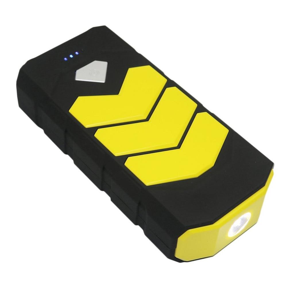 Voiture multifonctionnelle Portable batterie de secours chargeur 12 V voiture Booster dispositif de démarrage batterie haute capacité