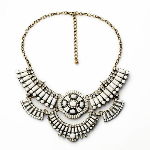good quality NEW style Fashion Vintage Unique collar pendant Chunky Necklace Statement Jewelry for Women necklace