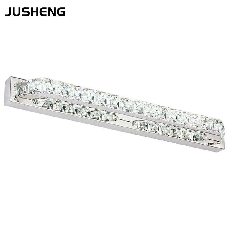 cristallo moderna luce del bagno 10 w 40 cm lungo lampada da parete led bagno di