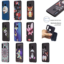 Silicone Case For Huawei Y5 2017 Huawei P20 Case Y7 Mobile Phone Protective Back Cover stylish protective plastic back case for huawei 3x golden grey