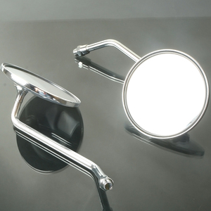 Image 3 - Bir Çift Motosiklet Dikiz Aynası, Arka Yan Aynalar Için Evrensel Yamaha AT1 125 1969 1971 AT1M Motokros 1970 AT2 125 1972