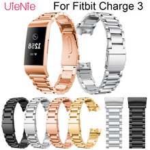 For Fitbit Charge 3 frontier/classic Replacement wrist strap band smart watch bracelet+connector accessories