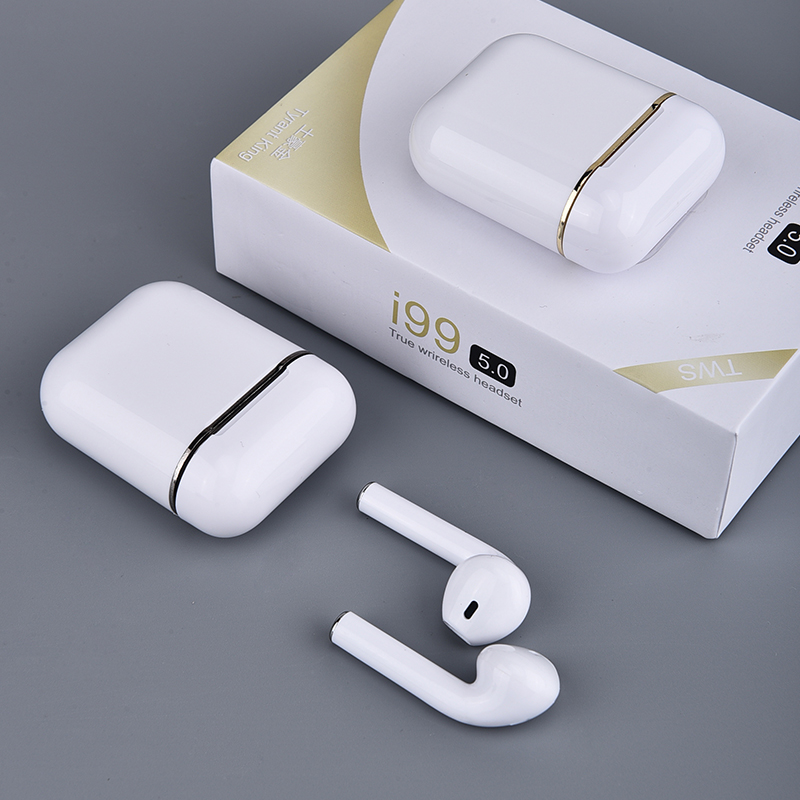 I99 TWS Bluetooth Wireless Earphones Earbuds With Charging Box Sports Headsets Android For All Smart Mobile Phone