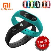 100 Original Xiaomi Xiomi Mi Smart Wristband Fitness Bracelet Miband 2 Mi Band 2 For Xiaomi