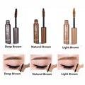 3 Color de Larga Duración Potenciadores Cejas Mascara Crema de Tinte de Cejas Enhancer Ceja Maquillaje Resistente Al Agua Ceja Cosmético Belleza Establecidos