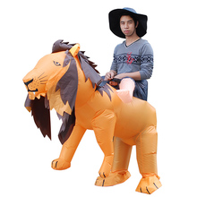 Halloween Adult Cosplay Lion Inflatables Animal Swear Party Men Women Holiday